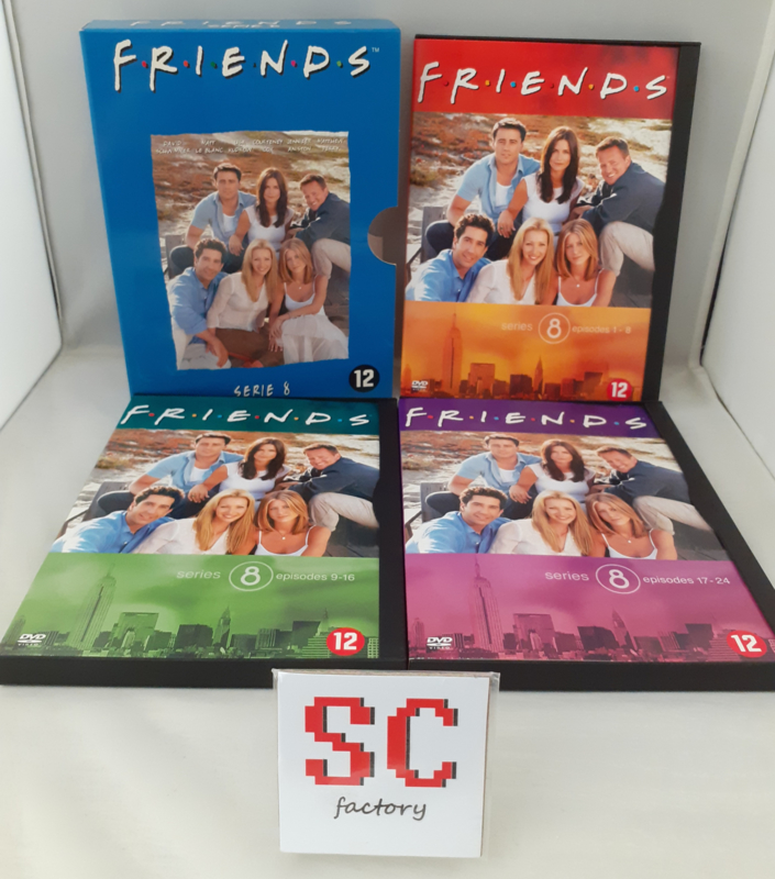 Friends Serie 8 (Seizoen 8) - Dvd box