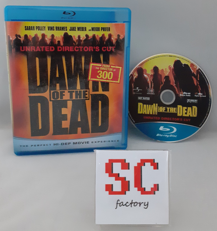Dawn of the Dead Unrated Director's Cut - Blu-ray