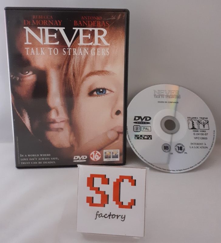Never Talk To Strangers - Dvd