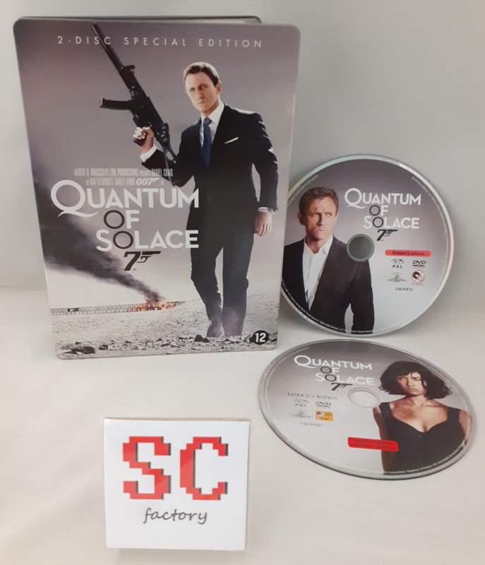007 James Bond Quantum of Solace 2 Disc Special Edition Steelbook - Dvd