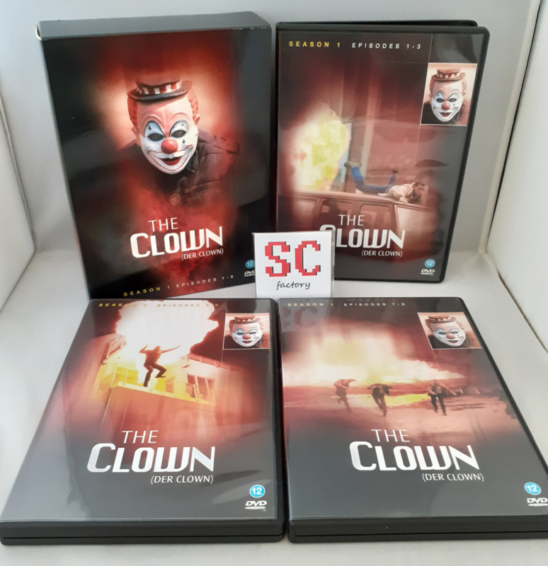 Clown, The (Der Clown) Seizoen 1 - Dvd box