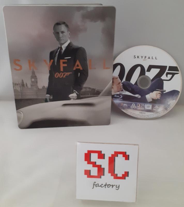 007 James Bond Skyfall Steelbook - Blu-ray
