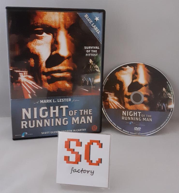 Night of the Running Man - Dvd