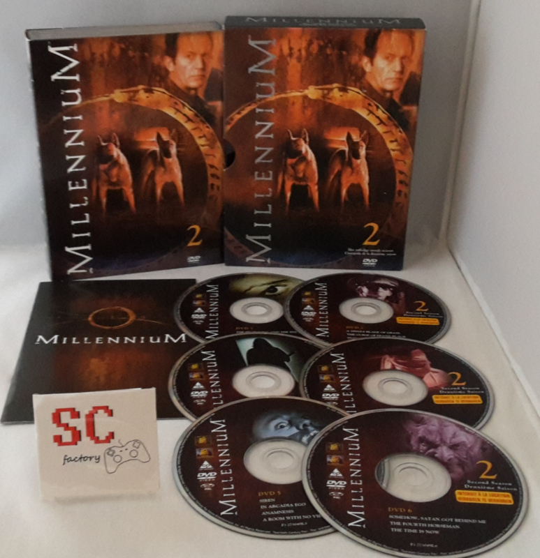 Millennium Seizoen 2 Collector's Edition - Dvd box
