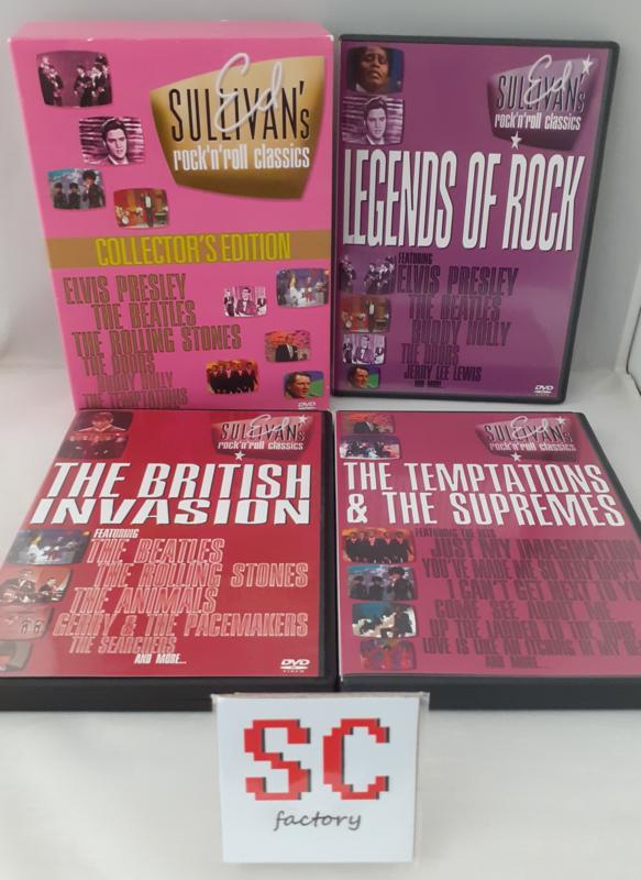 Ed Sullivan's Rock 'n Roll Classics Collector's Edition #1 - Dvd box