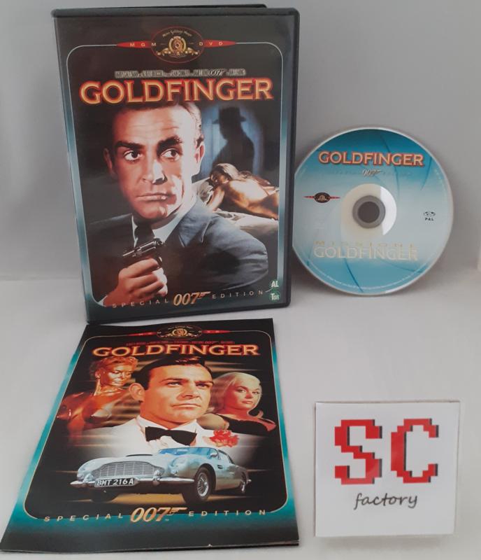 007 James Bond Goldfinger Special Edition - Dvd