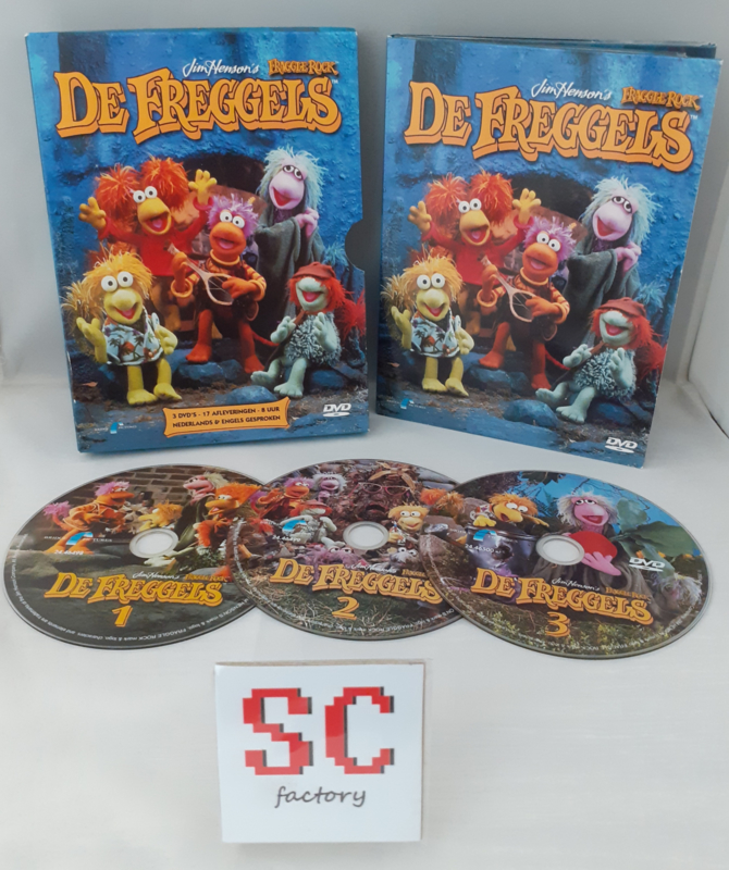 Freggels, De - Dvd box