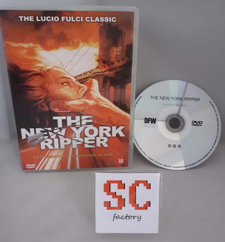 New York Ripper, The - Dvd