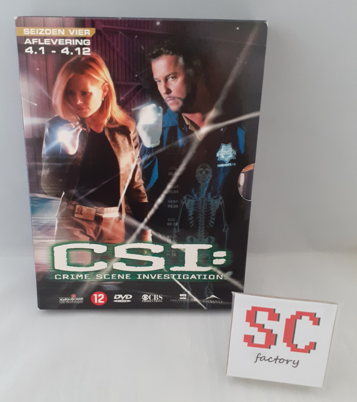 CSI (Crime Scene Investigation) Seizoen 4 Deel 1 (Afl. 1-12) - Dvd box