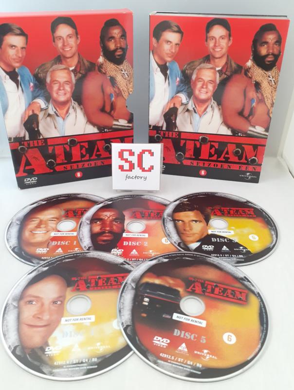 A Team, The Seizoen 1 - Dvd box