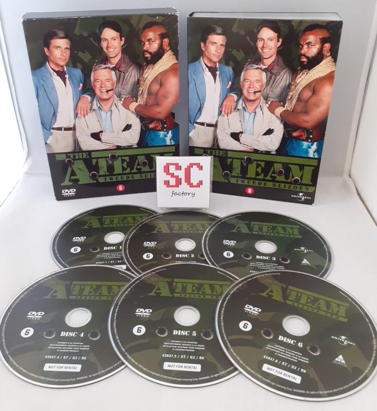 A Team, The Seizoen 2 - Dvd box