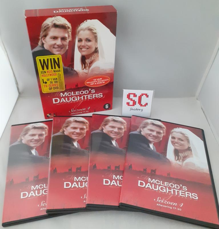 McLeod's Daughters Seizoen 4 Deel 2 (Afl. 17-32) - Dvd box
