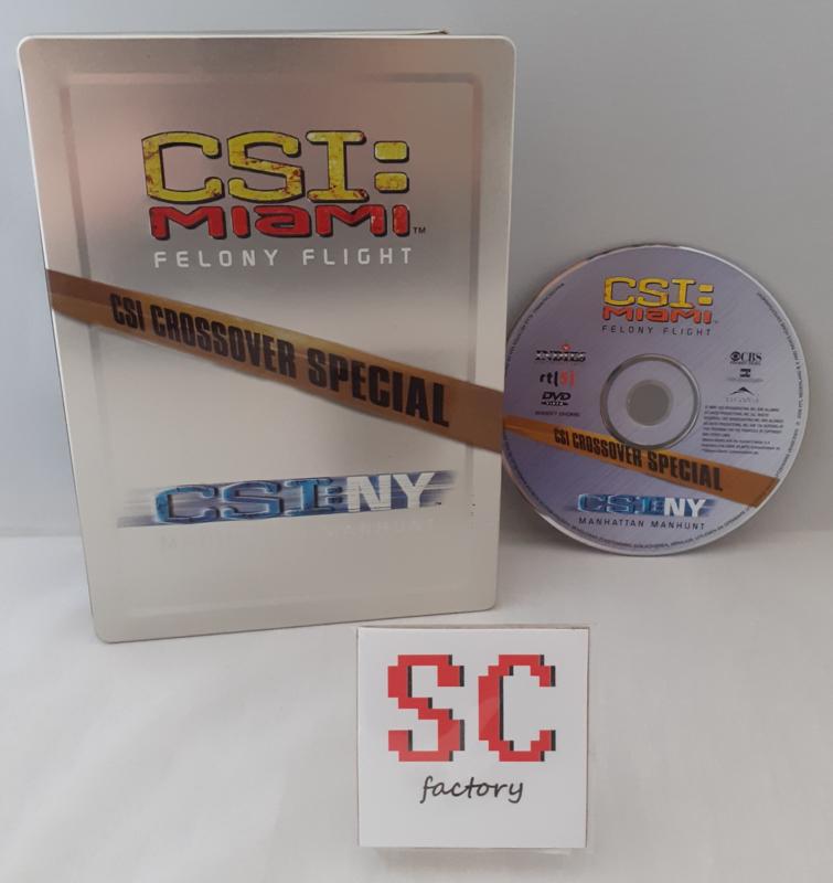 CSI (Crime Scene Investigation) Miami, NY Crossover Special Steelbook - Dvd