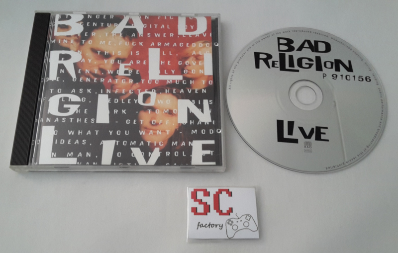 Bad Religion - Live CD