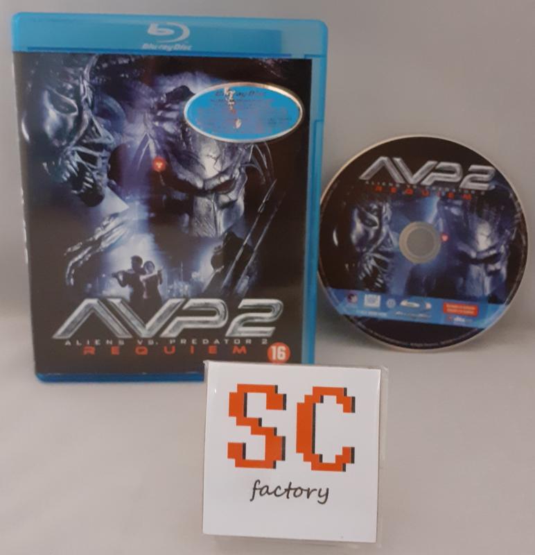 Aliens VS Predator 2 Requiem (AVP2) - Blu-ray