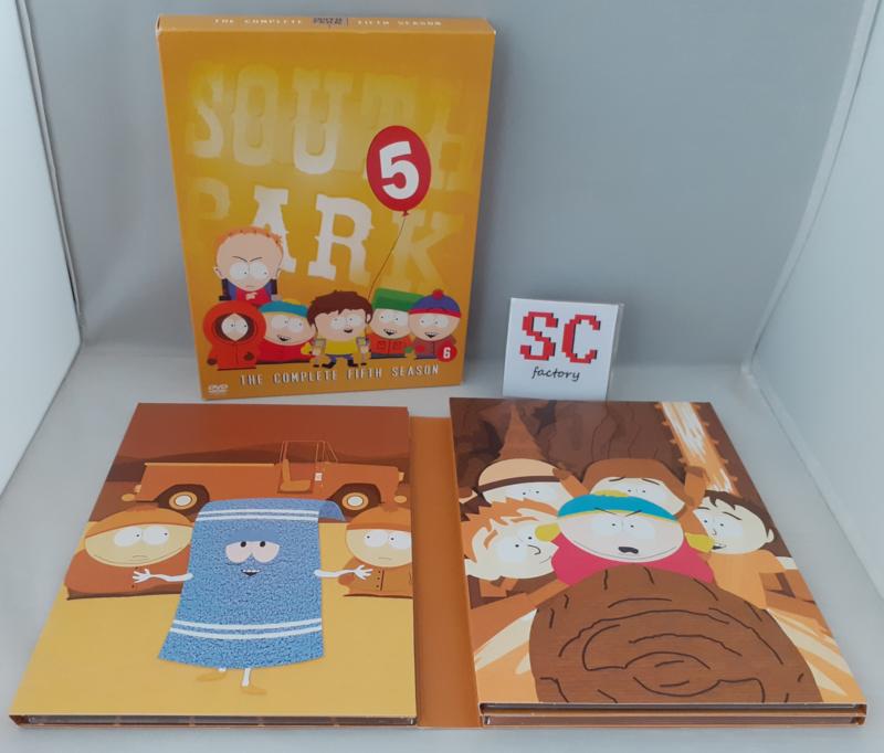 South Park Seizoen 5 Collector's Edition - Dvd box