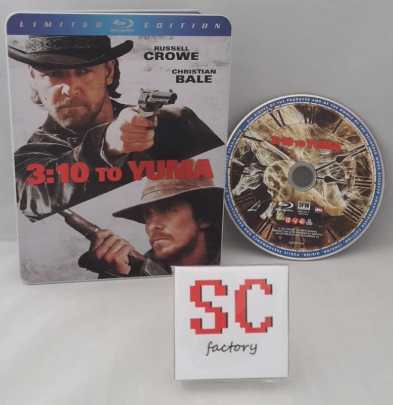 3:10 To Yuma Limited Edition Steelbook - Blu-ray
