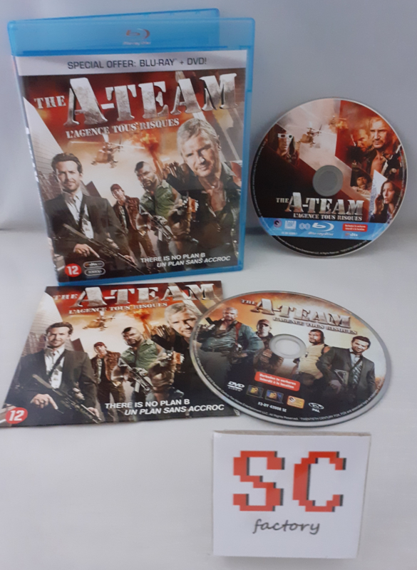 A-Team, The (Incl. Dvd) - Blu-ray