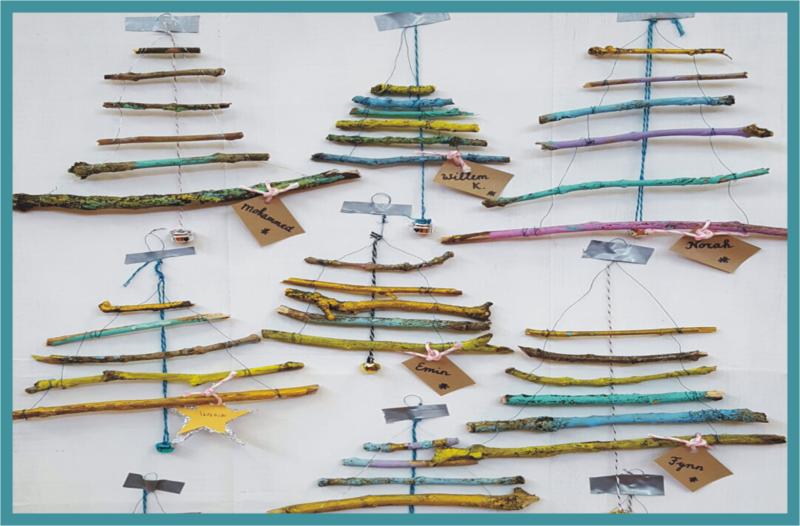 kerstboompje van duurzaam materiaal