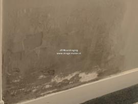 vlekken op de muur (lekkage)