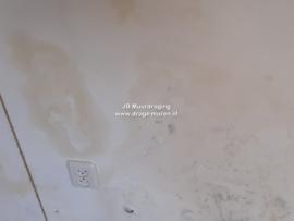 vlekken op de muur (optrekkend vocht)