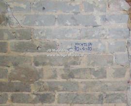 Hoe snel drogen de muren?
