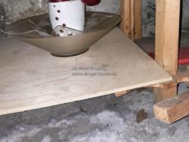 Een kelder op een zoutwaterbel.
