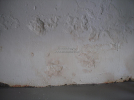 stucwerk laat los (kelder)