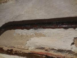 condens op de muur of in de kelder