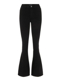 Highskin flared pants, Pieces