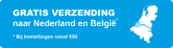 gratis verzending vanaf 50 euro