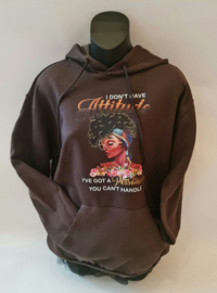 Personality Attetude Hoodie