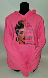 Black Woman Beauty  Hoodie