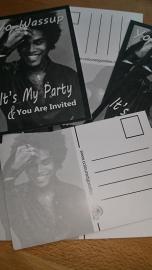 UITNODIGINGSKAARTEN AFRO Party Invitaion Men