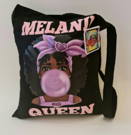 Melanin Bubblegum Shopper
