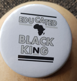 Educated Black King Africa