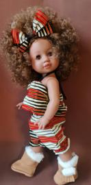 Whitney Kente red
