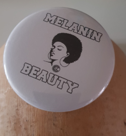 Melanin Beauty Button