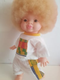 Zaveyo doll with Albinsm Jongen