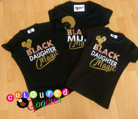 Black Mum & Daughter set