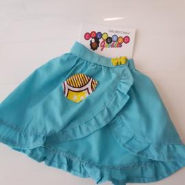Blue Skirt 45 cm doll