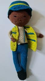 Crochet Yellow-Blue Boy