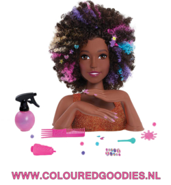 Hair styling Afro Doll