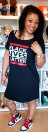 T shirt Jurk Black Lives Matter