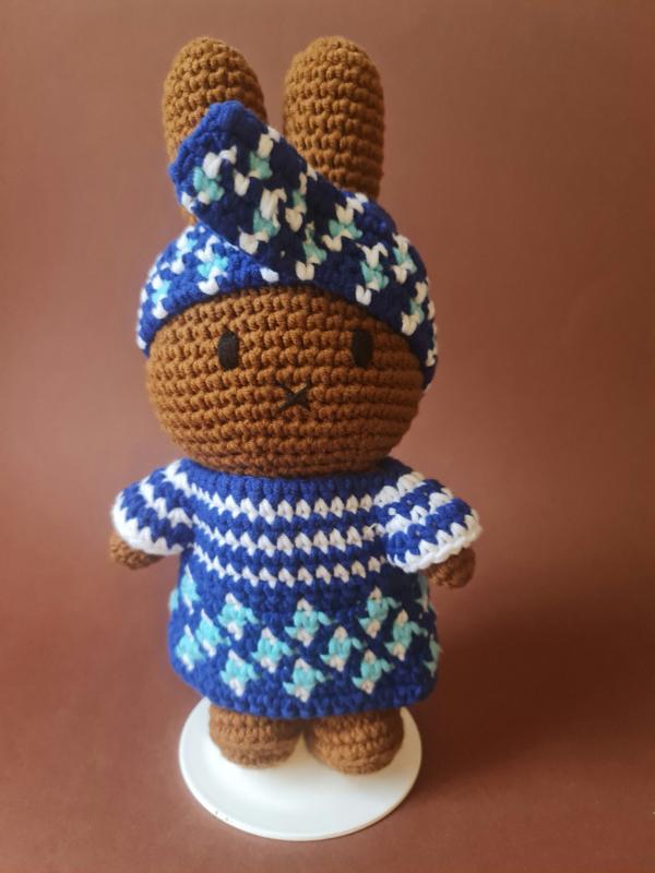Afro Nina Blue