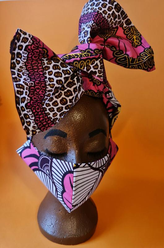 Headwrap & Facemask Set