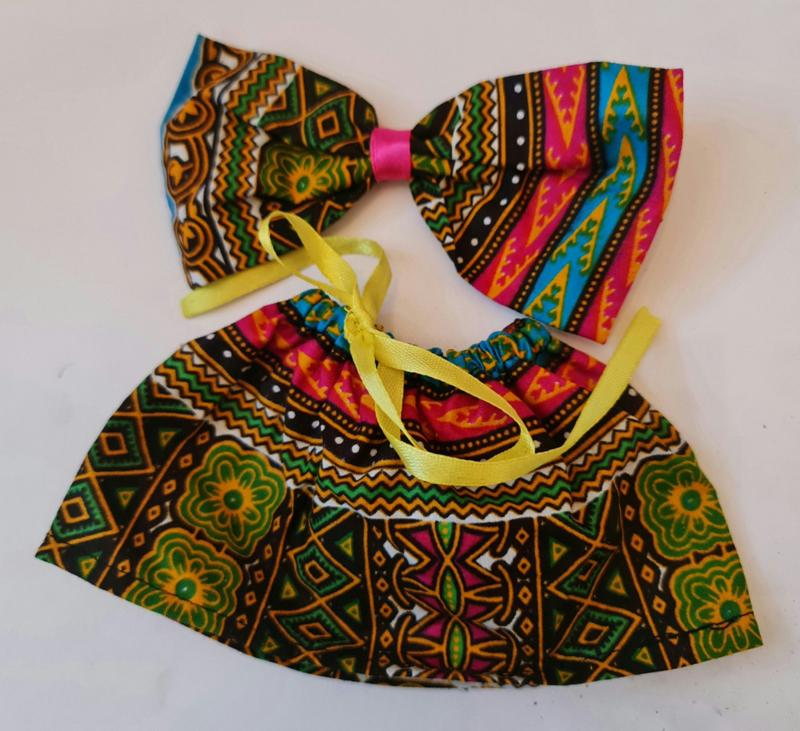 Dashiki Dress Rosa