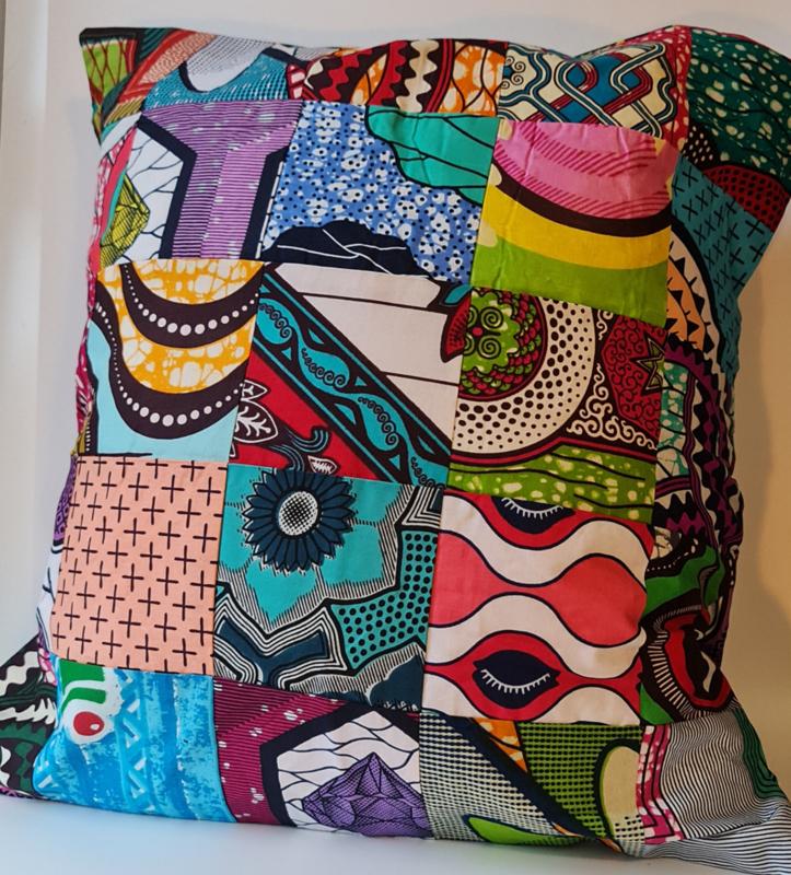 Kussen African Patchwork