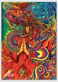 Namasté Postcard