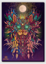 Cat Spirit Canvas Print
